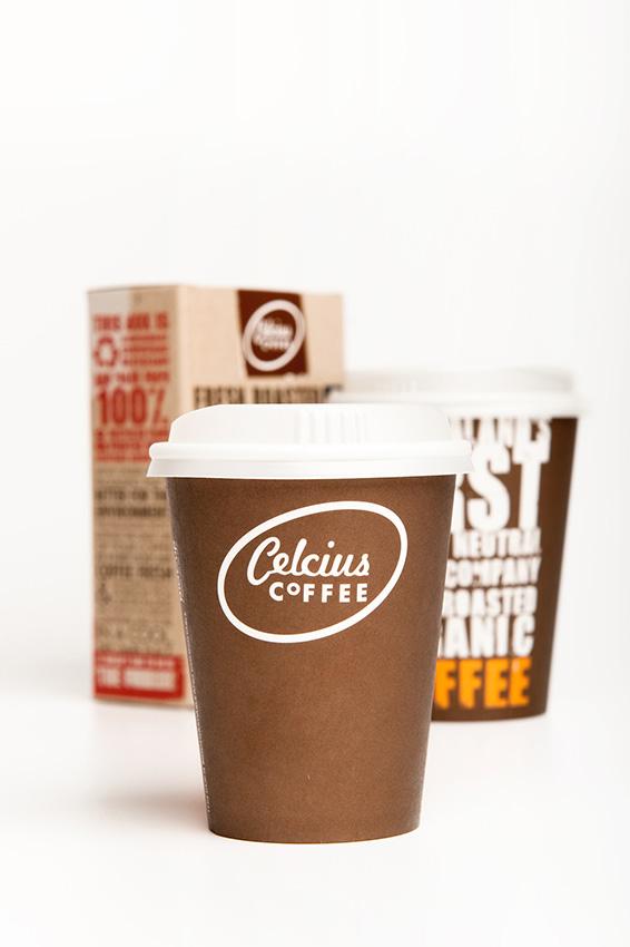 Moxie Design : Celcius Coffee